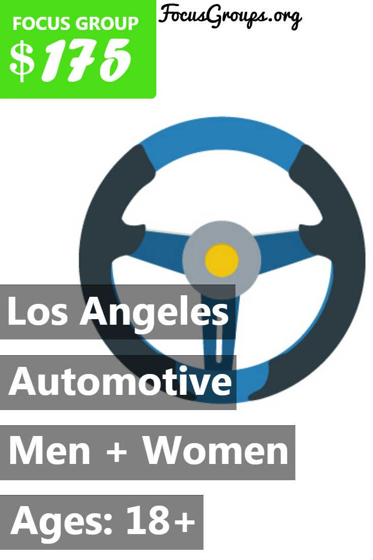 Focus Group On Automotive In La With Images Focus Group