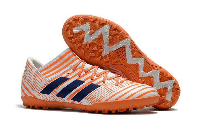 promo code f5e62 c187f Adidas Nemeziz Tango 17 3 TF 2018 World Cup Orange White Blue