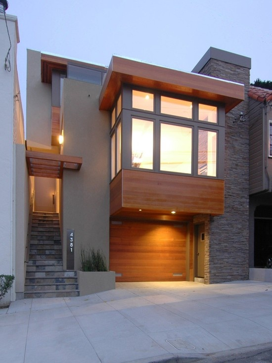 Gorgeous modern home with natural wood materials109 best Home Exterior images on Pinterest   Architecture  Modern  . Modern Home Exterior Materials. Home Design Ideas