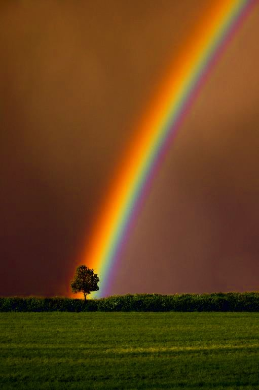 What is really at the end of the rainbow?