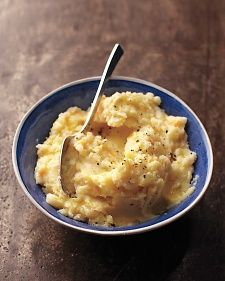 Creamy White Bean and Vegetable Mash   Butter and cream usually mean mashed potatoes are off-limits for vegans, but this variation gets its silky texture from white beans instead. Adding the legumes also doubles the amount of protein compared with traditional spuds.