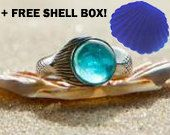 Limited edition Mako Ring.    Special introduction Price Limited time offer!  New H2O Mermaid series Mako Mermaid as featured in the show.