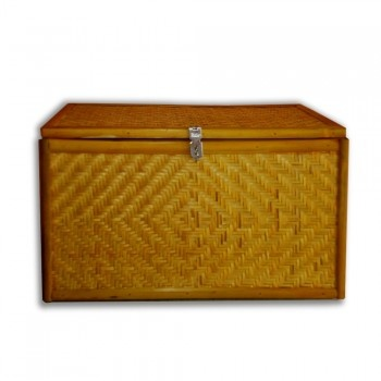 If you are looking for a storage for keeping your holiday gifts, use Yellow Bamboo Trunk from KraftInn. #pinspiration