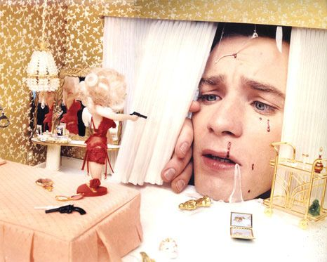 David LaChapelle-Dream Evokes Surrealism -Ewan McGregor: Dollhouse Disaster, Love Scorned