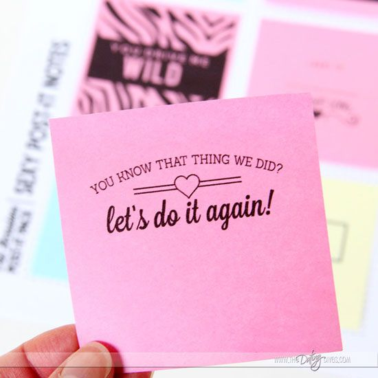 Printable Love Sticky Notes Love Notes Note And Love
