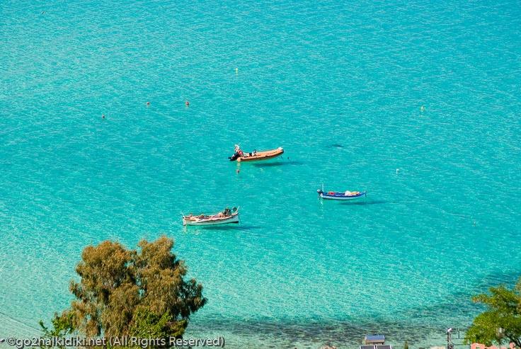 In afitos, Halkidiki, NOrthern Greece