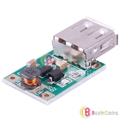 DC-DC Converter Step Up Boost Module 1-5V to 5V 500mA USB Charger For MP3 Phone
