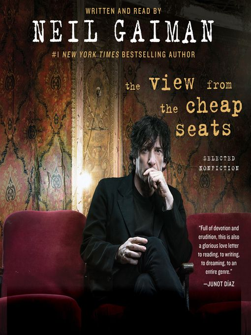 399 best overdrive ebooks audiobooks images on pinterest stephen the view from the cheap seats selected nonfiction by neil gaiman audiobook fandeluxe Choice Image