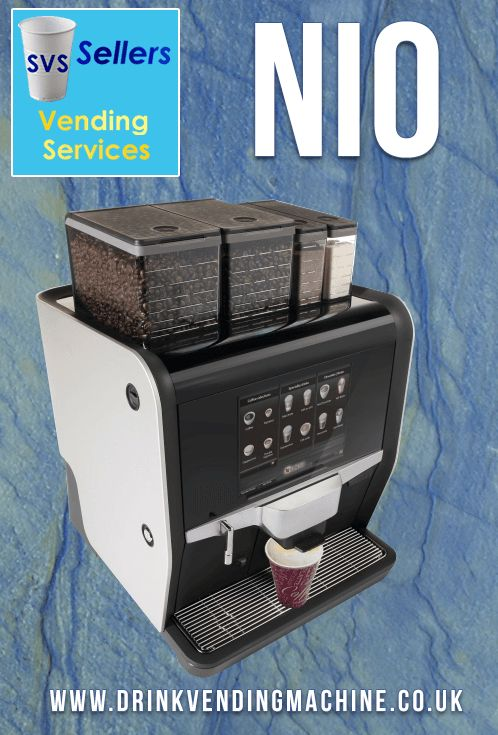 NIO, an elegant professional coffee machine the ideal choice for locations where around 150 speciality coffees are consumed per day. #NIO #De Jong Duke