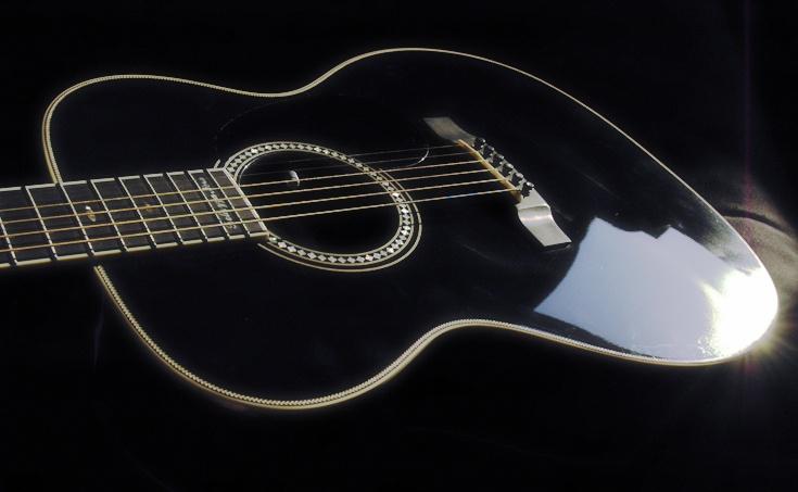 Bellezza Nera #guitar