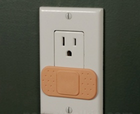 Ouchlet Outlet Covers - so stinkin' adorable!