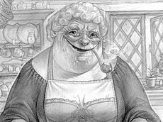 the witches: Nanny Ogg