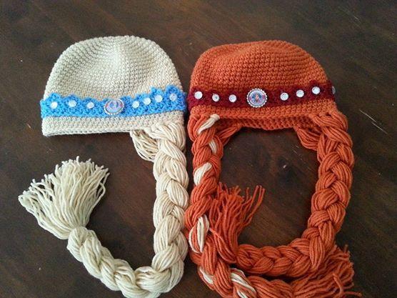 Frozen Hat Pattern Instant Download