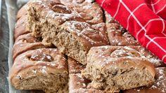 Vörtbröd i långpanna – enkelt att lyckas med! Årets favorit har smak av julens kryddor samt porter och julmust.