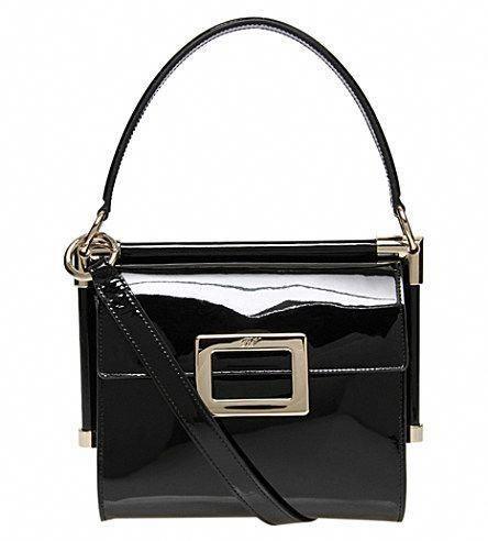 d3fd0a0b3cca ROGER VIVIER Miss Viv Mini Patent Shoulder Bag.  rogervivier  bags   shoulder bags  hand bags  patent