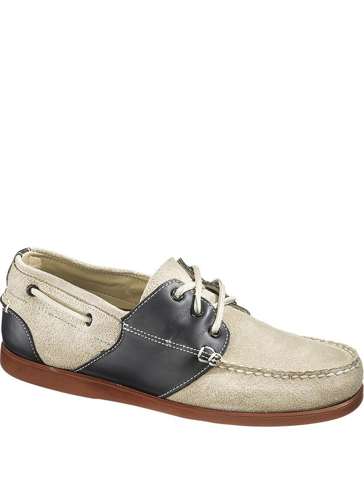 Mens Saddle, Stone & Black Docksides Shoes at RunwaySale.