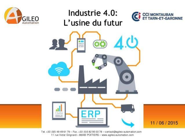 Industrie 4.0: l'usine du futur