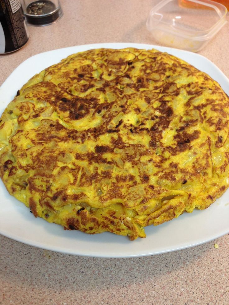 How to Cook:(Spanish Omelette)