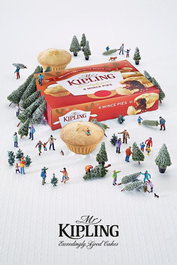 Ads of the World™ - Mr Kipling: Christmas Trees