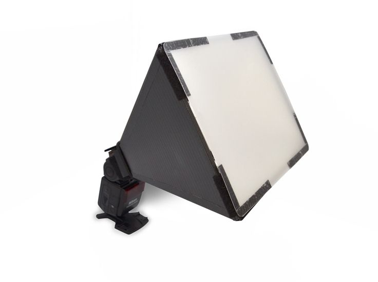 DIY: Larrys Speedlight Mounted Softbox