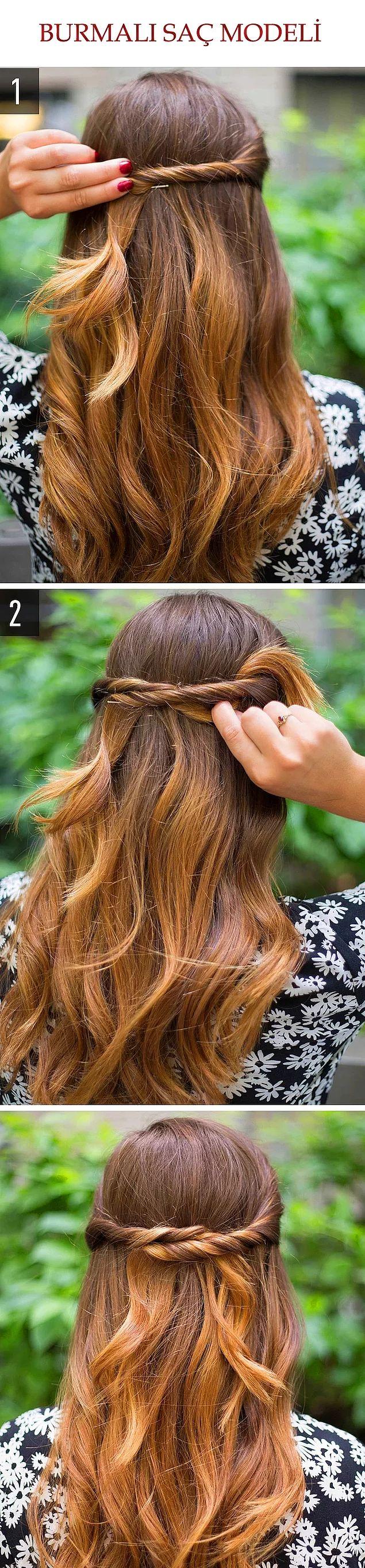 Hanım hanımcık saç modeli :)