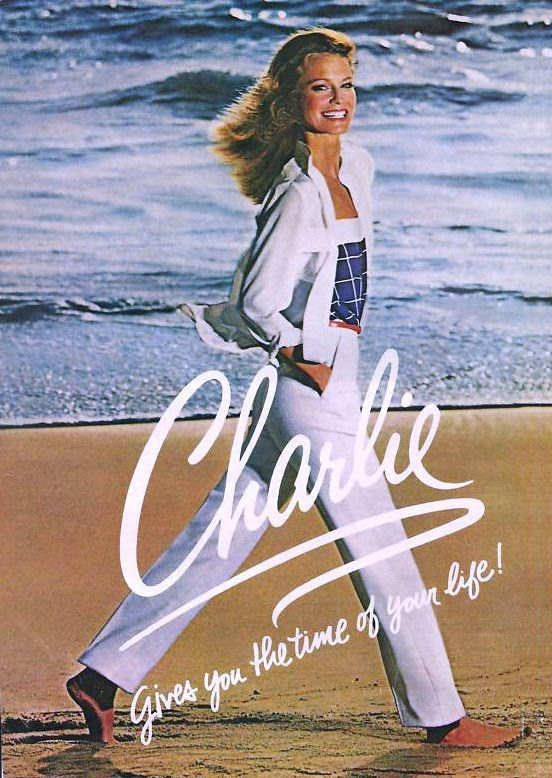 Vintage 1970s Charlie cologne commercial featuring Shelley Hack - probably best known for Charlie's Angels