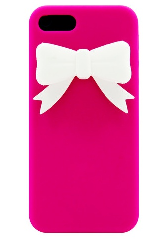 Pink Bow Phone Case {For Ma}