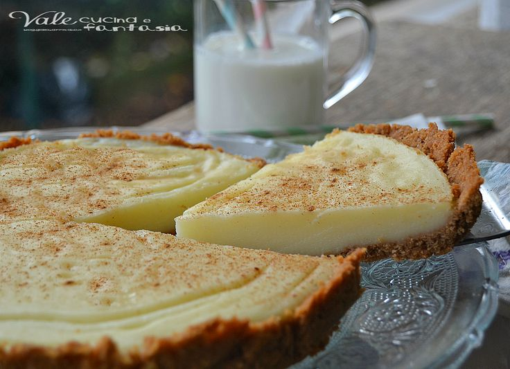 TORTA AL LATTE E BISCOTTI COTTA AL FORNO questa torta vi stupirà per la sua bontà, ricca di latte ideale per i nostri bambini,ricetta dolce facile