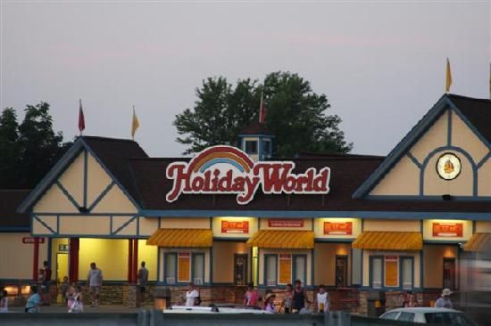 Holiday world, Santa Claus. YES we WILL go here someday! I have ALWAYS wanted to go to Santa Claus, IN