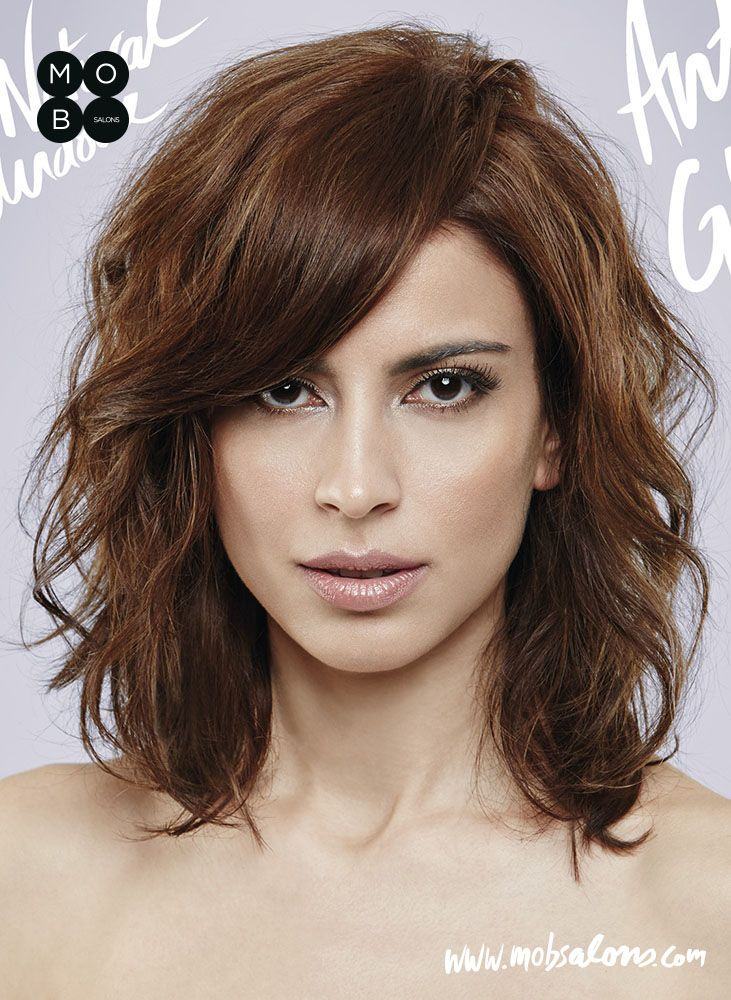 Etheral SS15 Collection by Mob Salons #brown #undone #wavy #antiglamour #hairstyle