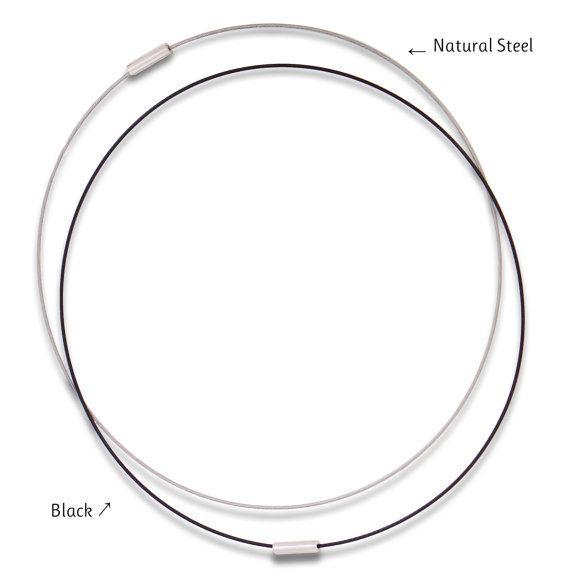 Cierre magnético 18 acero 1 mm Cable retractor por RobinEvansStudio