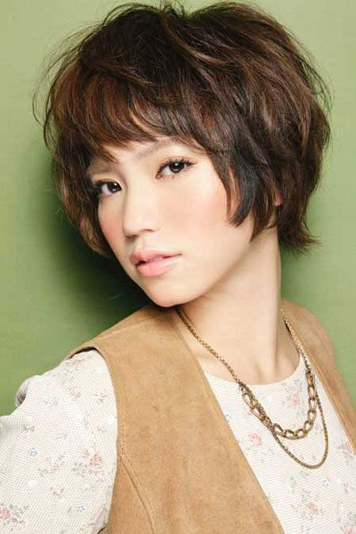 pretty korean short hairstyles