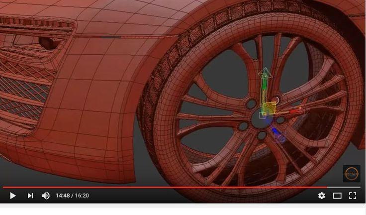 Audi R8 v10 plus | 3Ds Max Timelapse