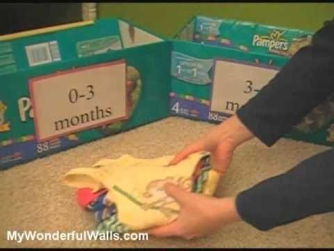 Organizing the Baby Nursery