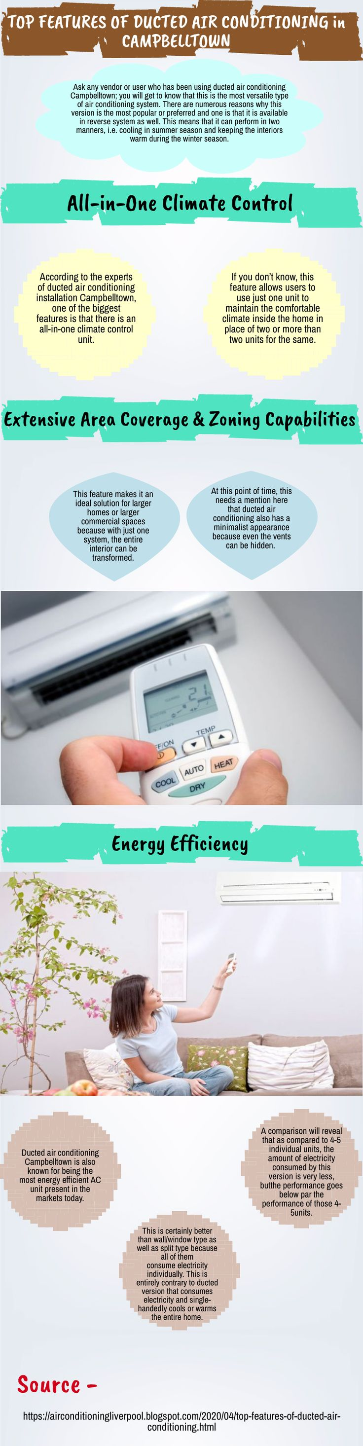 Top Features of Ducted Air Conditioning in Campbelltown in