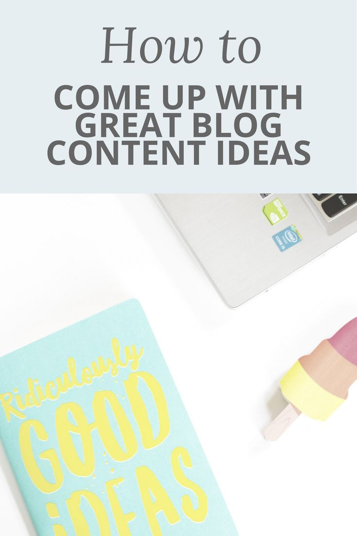 Do you struggle to come up with ideas for your blog? Never fear! I have some great tips to help you come up with TONS of blog post ideas. So many in fact, that your editorial calendar will be completely filled! Happy blogging ;)