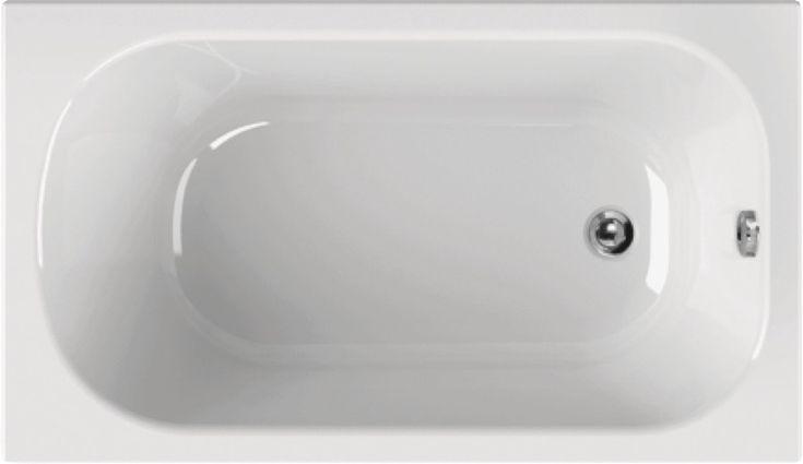 Badewanne 130 x 70 x 39 cm In den Auswahlfeldern Ablaufgarnitur Wannenfüße 11,2 - 17,2 cm oder Wannenträger 57,5 cm kleine Badewanne 130 x 70 x 39 cm Bodenlänge 92 cm Wasserinhalt 126 Liter aus hochwertigem Sanitär-Acryl weiß Badewanne für kleines Badezimmer