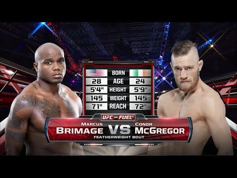 Conor McGregor vs Marcus Brimage FULL FIGHT - YouTube