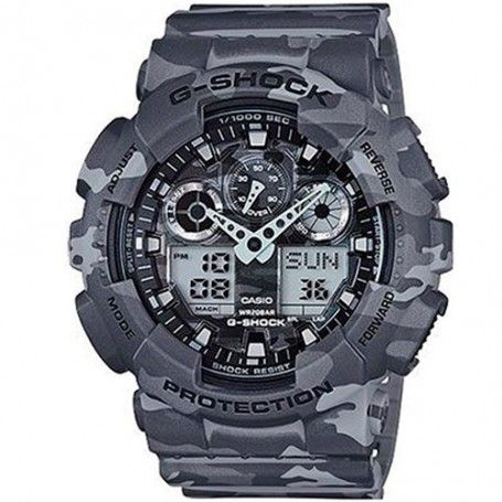 G-Shock Men's Analog-Digital Gray Camouflage Resin Strap Watch - Watches -  Jewelry & Watches - Macy's