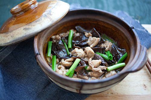 Chinese Chicken Stew with Black Fungus | Recipe | Cook in, Stew and ...