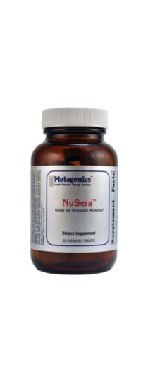 Metagenics NuSera - Relief for Stressful Moments - Chocolate Flavor