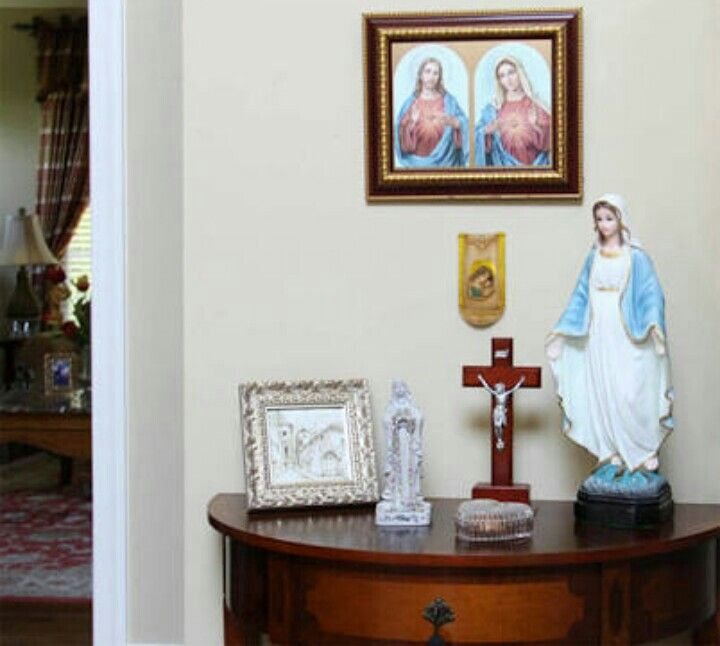 111 Best Images About Altars: 17 Best Images About Catholic Home Altars On Pinterest