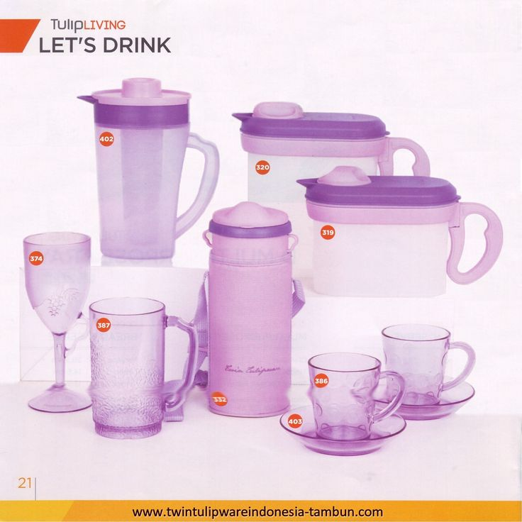 Let's Drink Products - Tulipware
