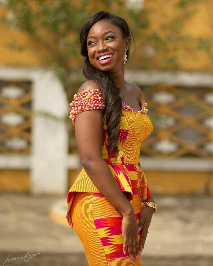 93 Best Ghanaian Fashion (Kaba And Slit) Images On