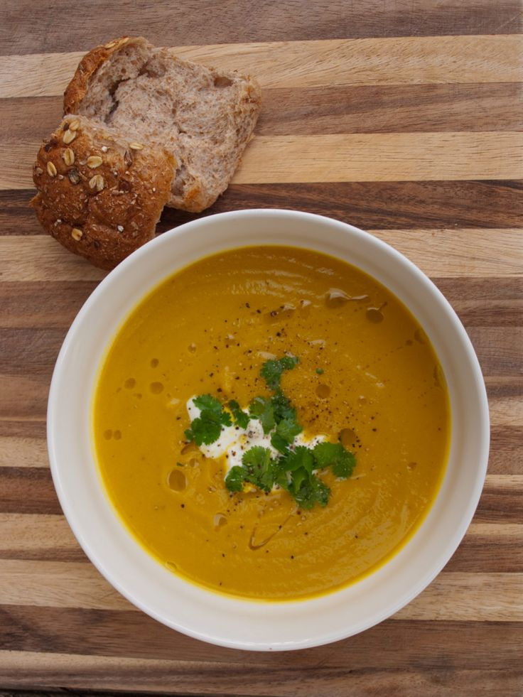 Spiced Pumpkin and Coconut Soup