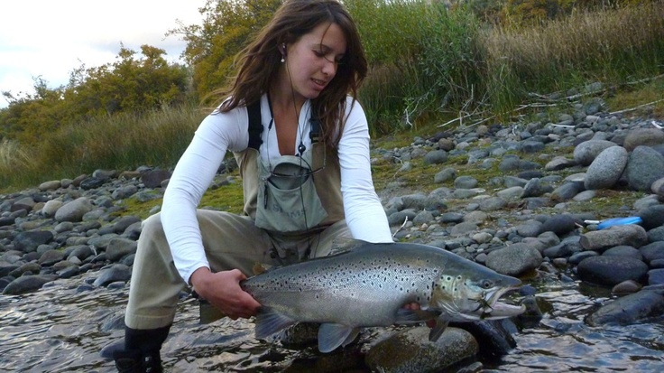91 best brown trout anadromous images on pinterest for Fly fishing girls