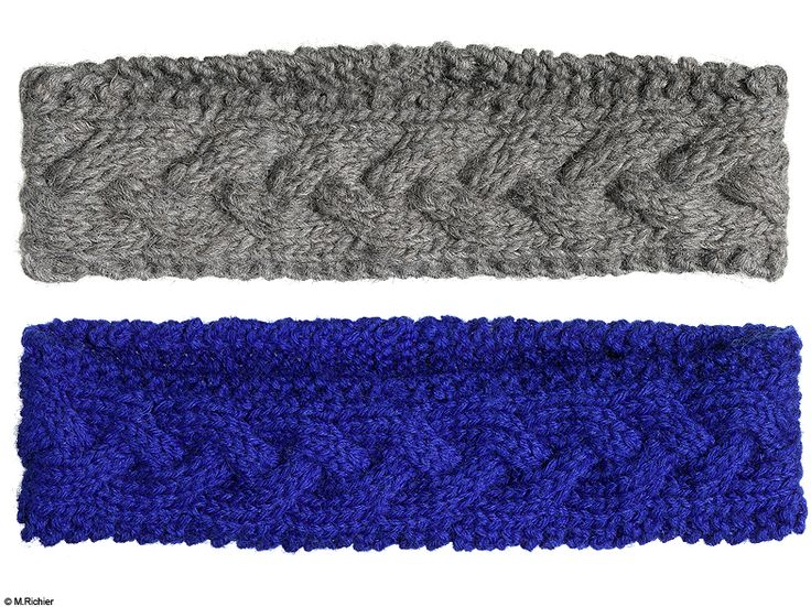 Mode do it yourself customiser creation bandeau laine