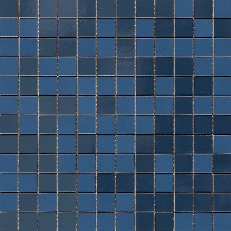 #Marazzi #Imperfetto Royal Blue #Mosaic 32,5x32,5 cm MLXT | #Porcelain stoneware | on #bathroom39.com at 165 Euro/sqm | #mosaic #bathroom #kitchen