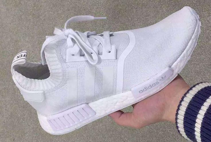 qpzuwr The adidas NMD Gets An All-White Makeover | SNKRS | Pinterest
