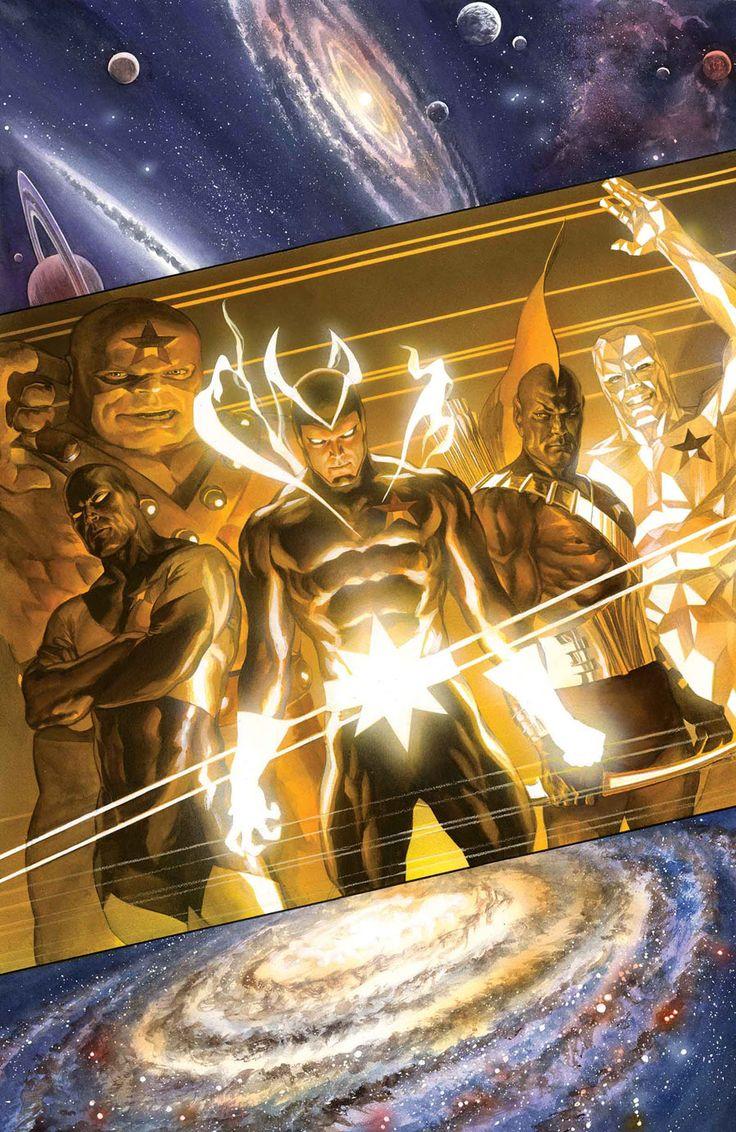 17 best images about alex ross art on pinterest superman for Galactic wonder